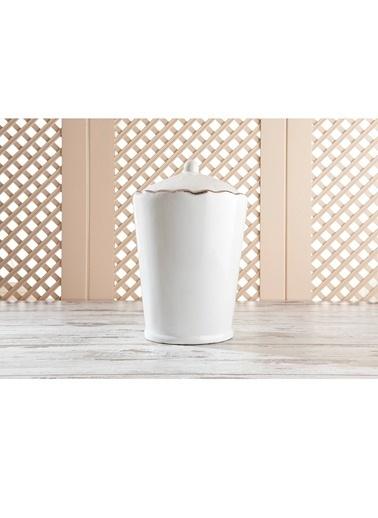 Gül Güler Çöp Kutusu Modern Sılver Gümüş